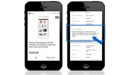 eBay Descrizione Mobile per il 2017, cosa fare?