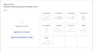 eBay consigli fotografie AI